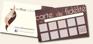 Carte De Fidelite2 Coiffure Creation